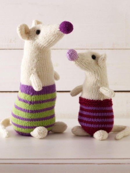 Mit Anleitung: So stricken Sie eine Maus | Dolls | Pinterest | Süße ...