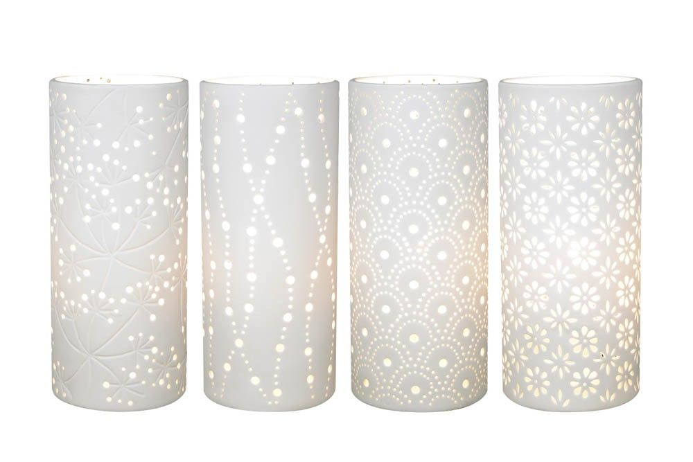 Set of 4 Samara Porcelain Lamps - Natural Nursery - Temple & Webster presents