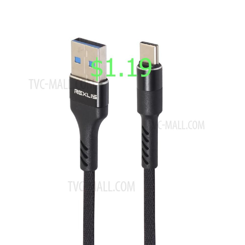 1 0m Woven Pattern Type C Usb Data Sync Charging Cable For Samsung Htc Huawei Black In 2020 Phone Accessories Cell Phone Accessories Phone Cables