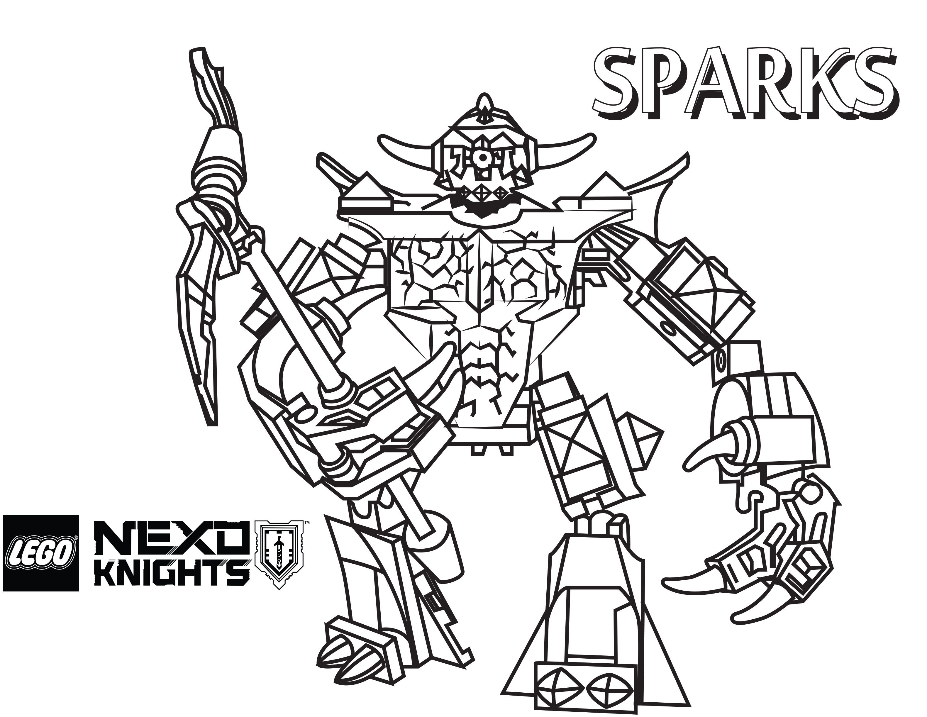 Nexo LEGO Knights Coloring Pages crafts Pinterest