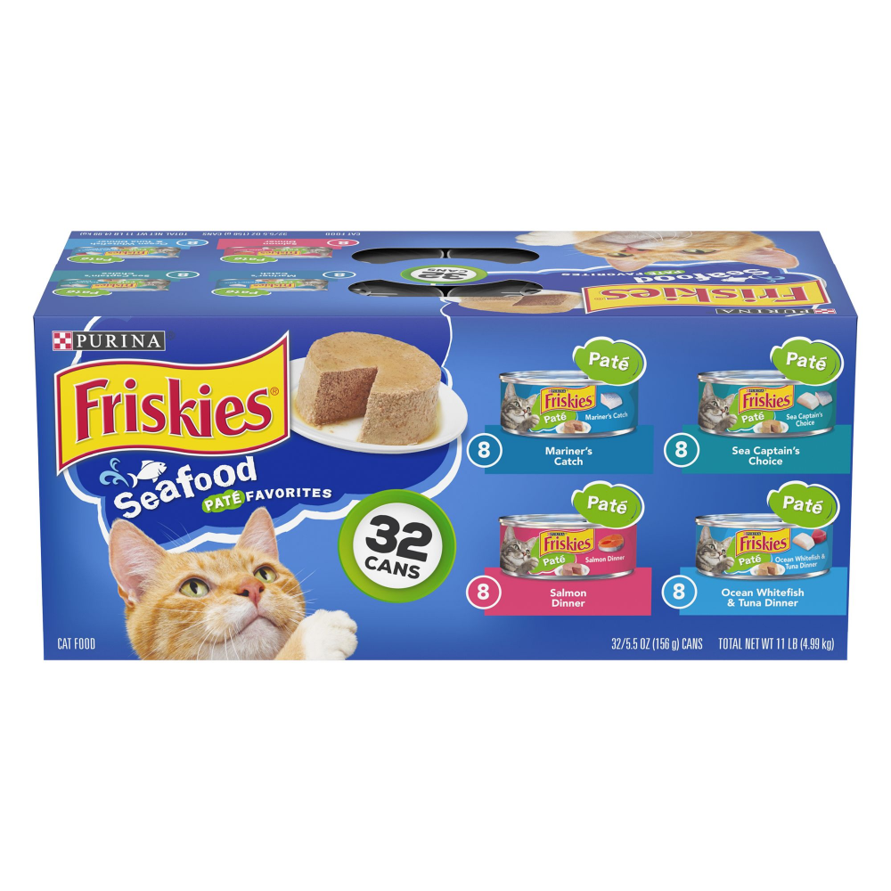 Purina Friskies Cat Food Seafood Variety Pack 32ct In 2020