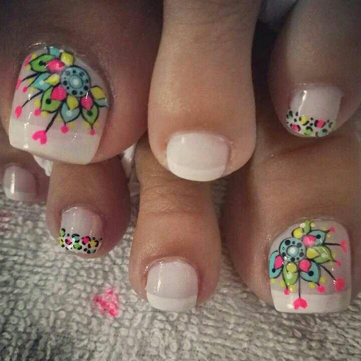 Pin De Luisa Maria Buelvas Perez En Unas Nails Toe Nail Art Y Toe