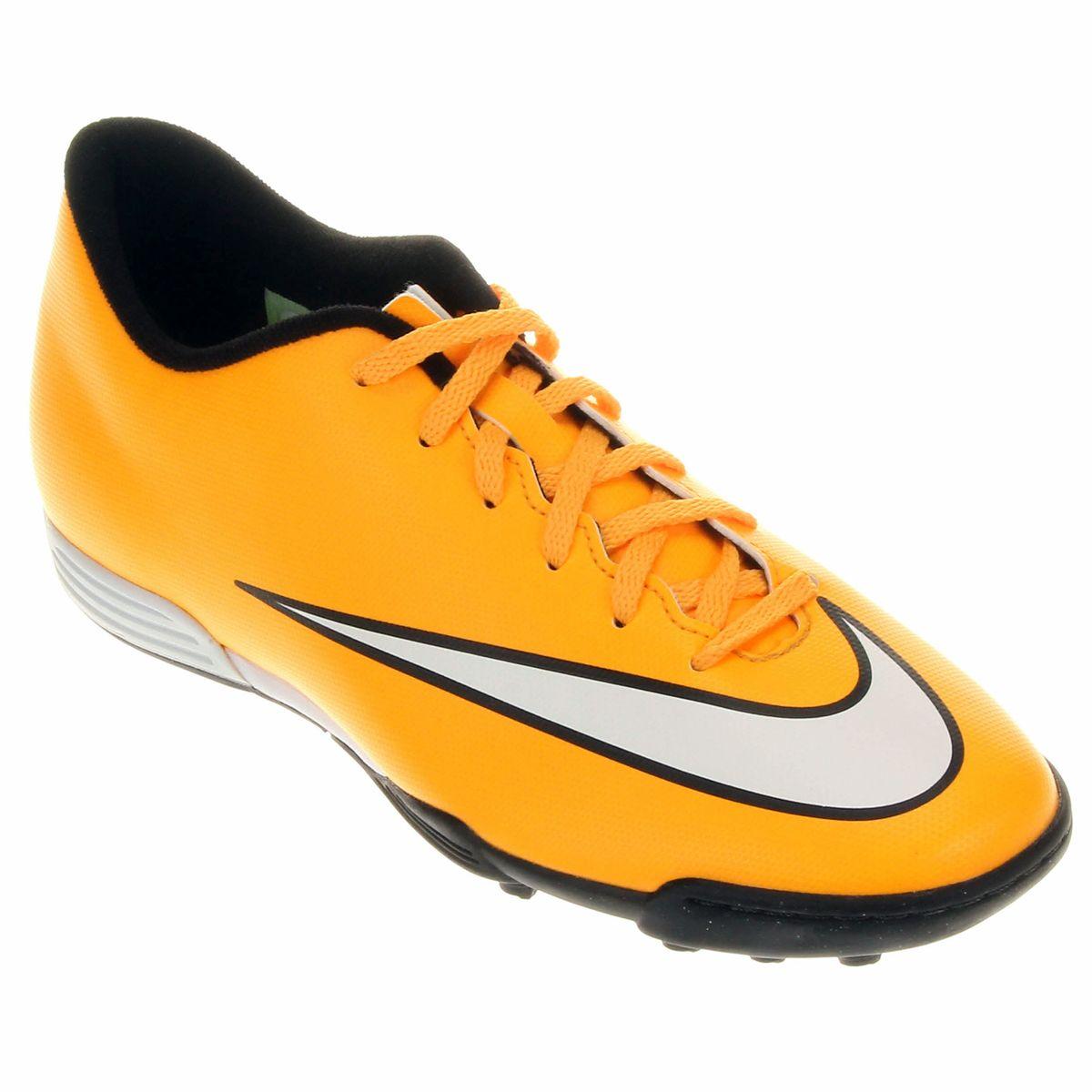 promo code 84697 69f8b Mostre toda a sua habilidade com a Chuteira Nike Mercurial Vortex II TF e  seja imbatível. Ganhe velocidade para driblar e surpreenda os adversários  com ...