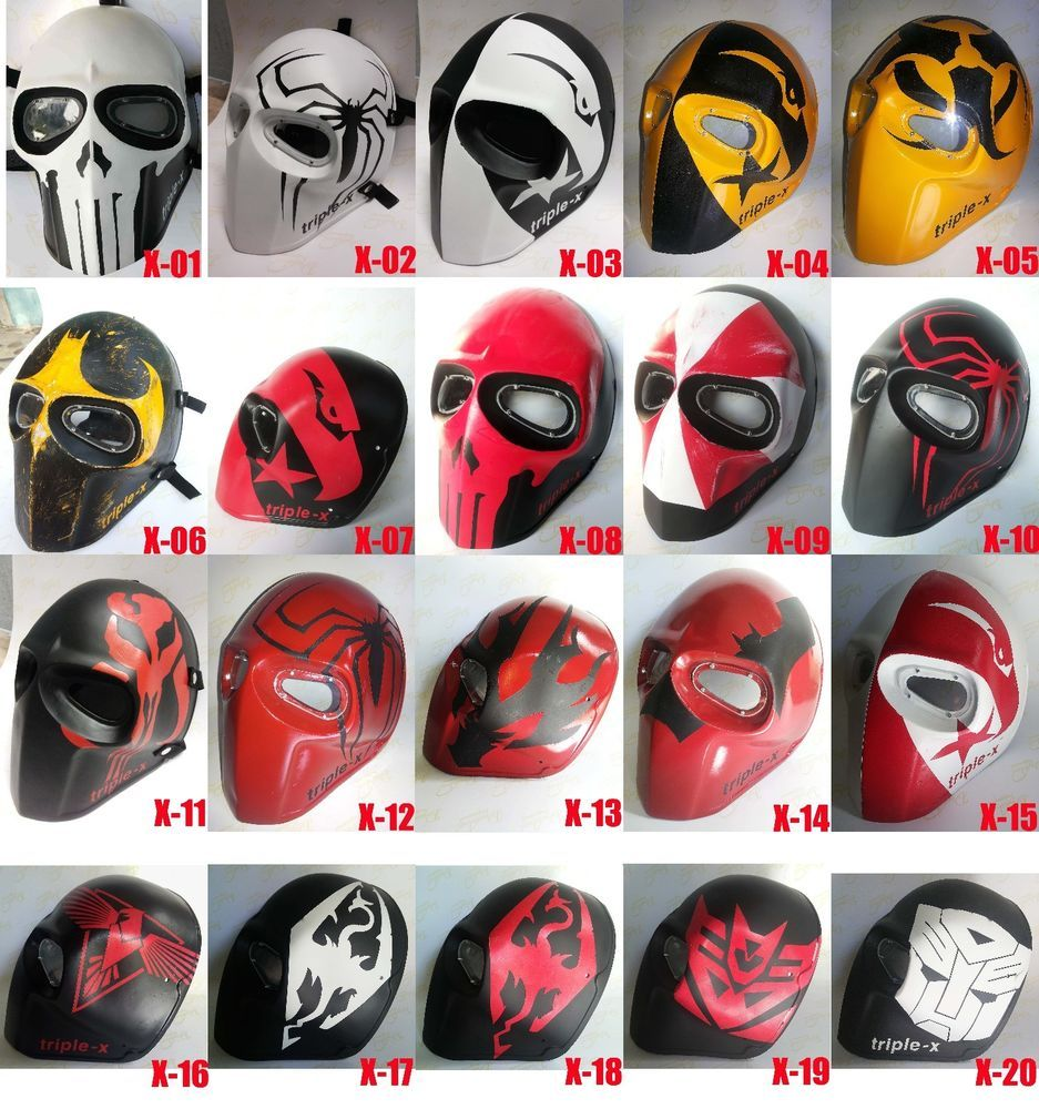 Army of two mask, Airsoft paintball mask, Halloween mask ...