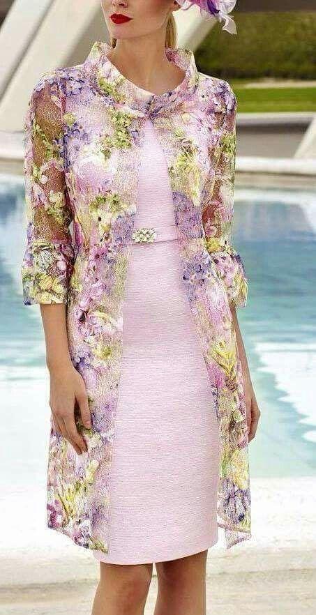 Kann ich mir gut vorstellen als Brautmutter-Kleid ...
