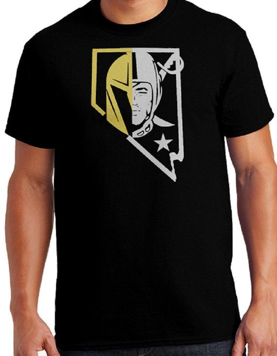 Vegas Golden Knights Hockey Raiders Football Two Team Shirt Mens Crew Neck  Ladies Crew Neck V-Neck Tank Top FREE SHIPPING 3aac71436