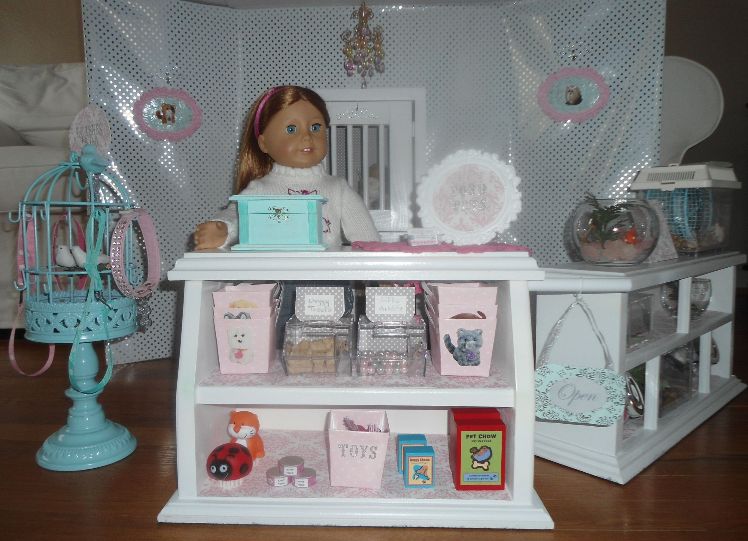 American girl / AG doll Posh Pet store American girl