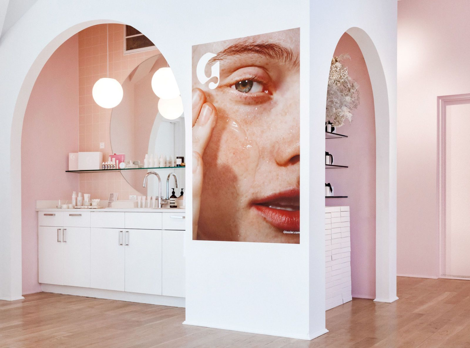 Glossier Just Opened Their First Retail Store—And Wait