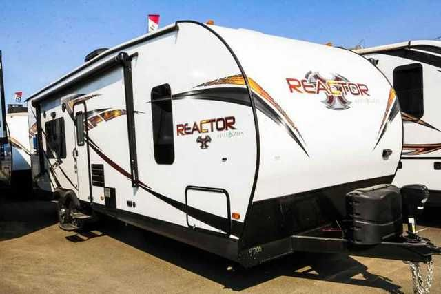"2016 New Evergreen Rv REACTOR 27FS Toy Hauler in Oregon OR.Recreational Vehicle, rv, Guaranty RV Super Centers was named a Top 5 Blue Ribbon dealer by RVBusiness Magazine 2015 Top 50 Dealer Awards. ""We don't just sell fun, we Guaranty it!"""