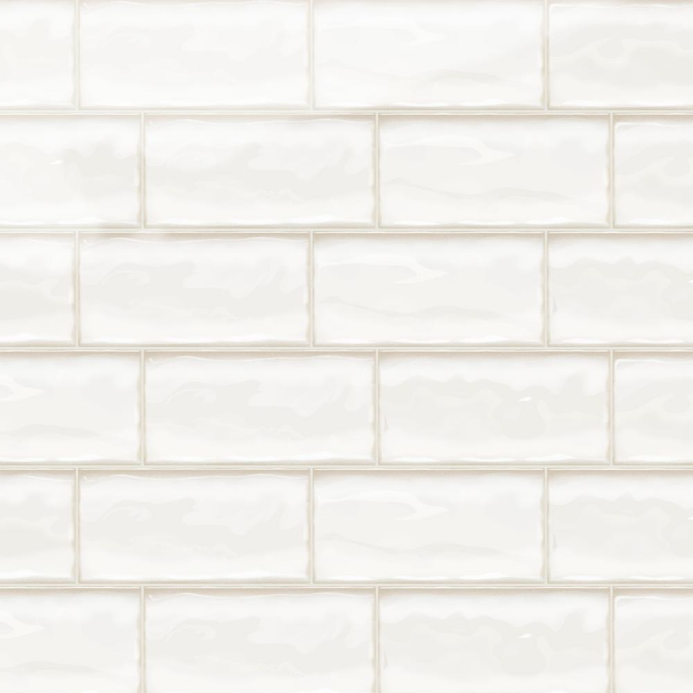 Daltile Structured Effects Minimal White 3 In X 6 In Glazed Ceramic Wall Tile 12 Sq Ft Case Se1936modahd1p2 The Home Depot In 2020 Ceramic Wall Tiles Wall Tiles Glazed Ceramic