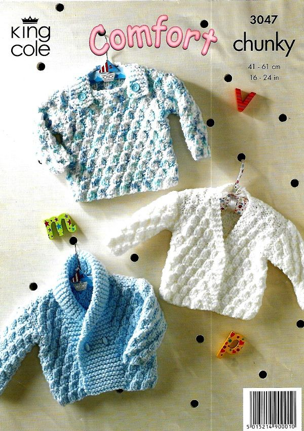 King cole 3047 new knitting pattern (With images) | Chunky ...