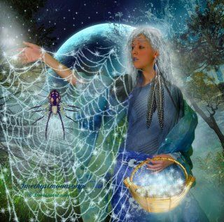 Can you feel your heartbeat? Can you feel the heartbeat of Great Mother? Like Grandmother Spider's wondrous web, woven deliberately with great precision, we are all interconnected.