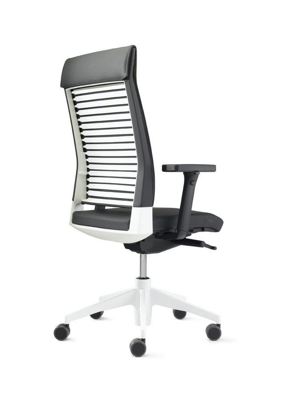 Work Chair Slat 16 With Backrest 62 Model Sls320 Work Chair Chair Office Chair