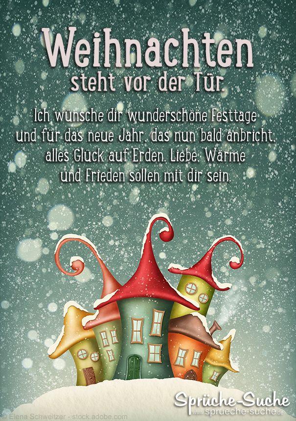 Weihnachten Steht Vor Der Tür Weihnacten