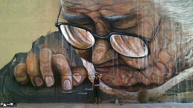 #street art #graffiti