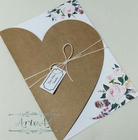 Convite casamento classico nude rosê no Elo7   Atelie-da