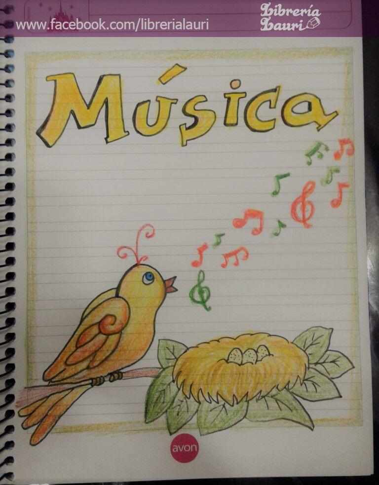 Caratula musica infantil escolar dibujo for Caratulas de artes plasticas para secundaria