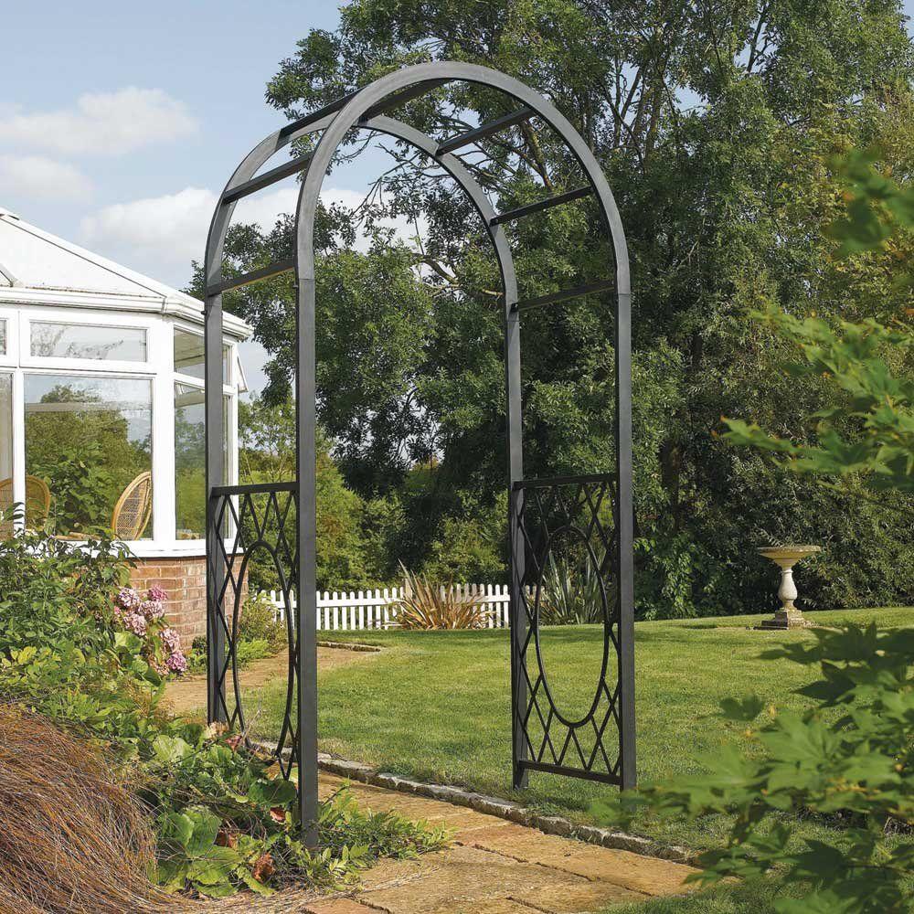 Wrenbury Round Top Arch Garden Archway Garden Arches Garden