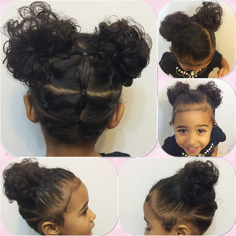Hairstyles For Girls With Mixed Hair: Little Girls Hair Style (With Images)
