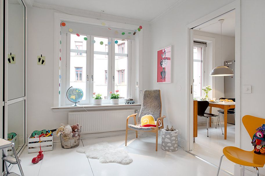 A Charming Swedish Apartment Gothenburg, Apartments and Spaces