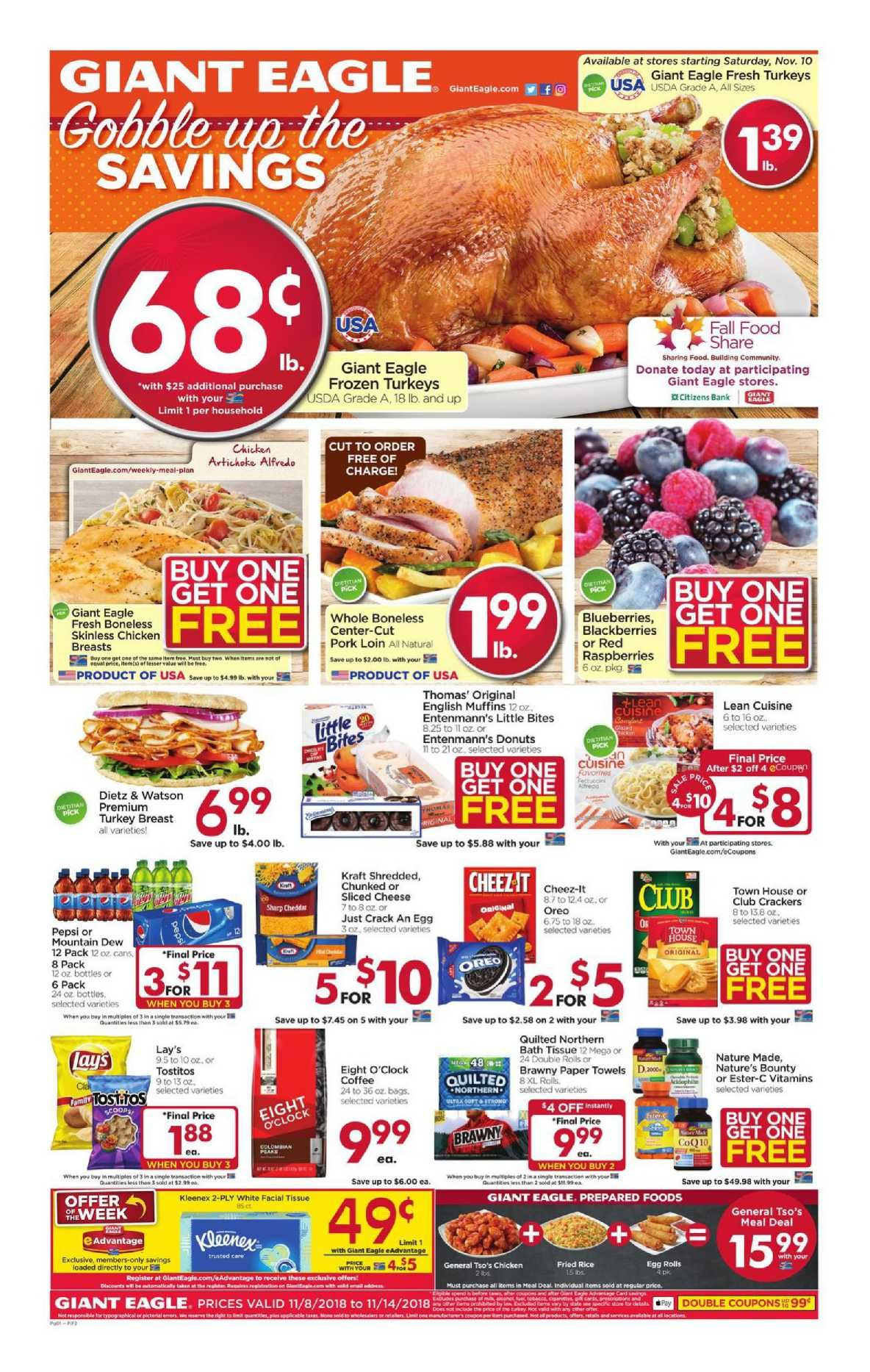 Giant Eagle Weekly Ad Flyer February 27 March 04 2020 Weeklyad123 Com Giant Eagle Weekly Ads Grocery Savings