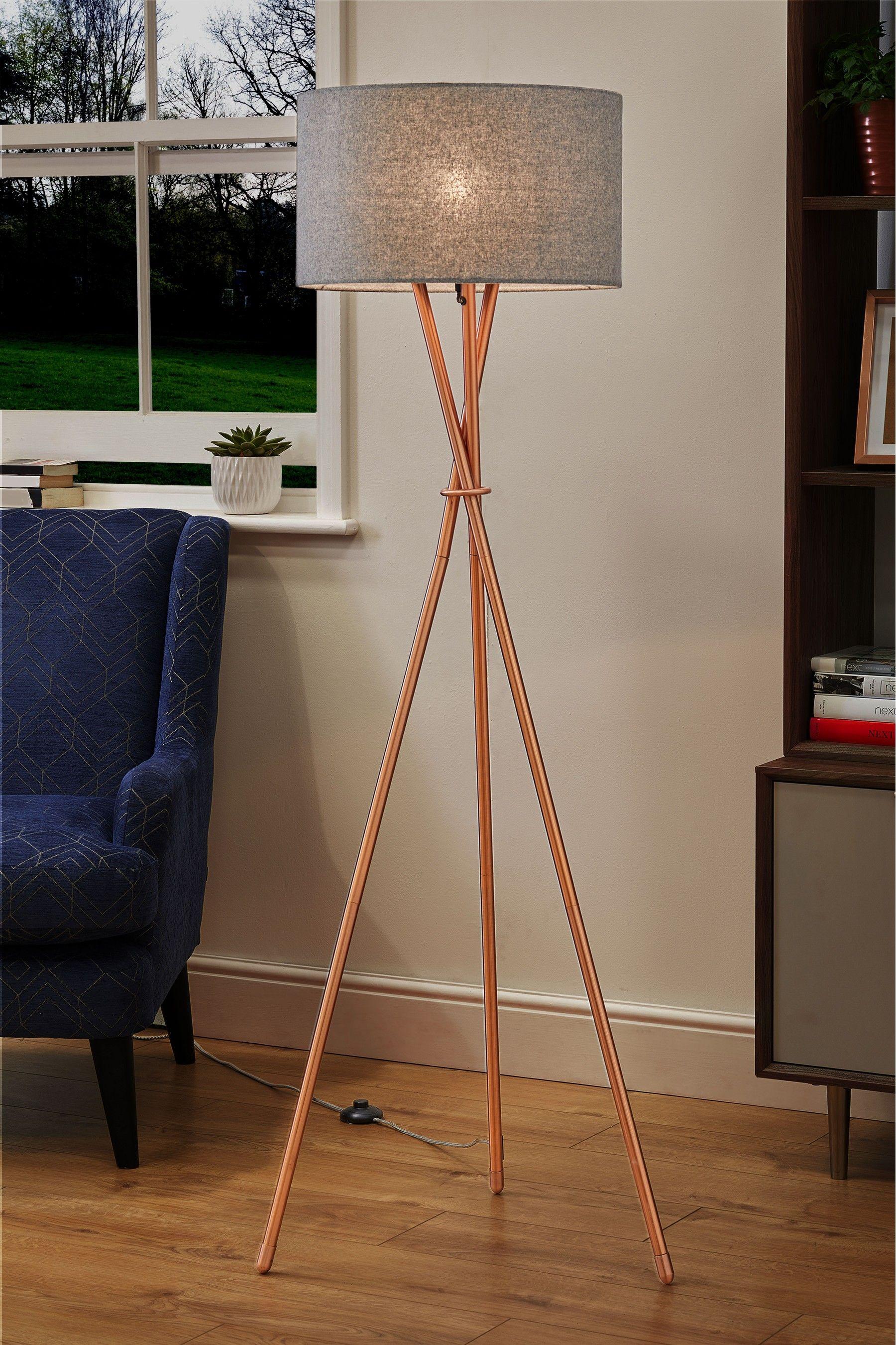 Next Tripod Floor Lamp Copper Copper Floor Lamp Stylish Floor Lamp Tripod Floor Lamps