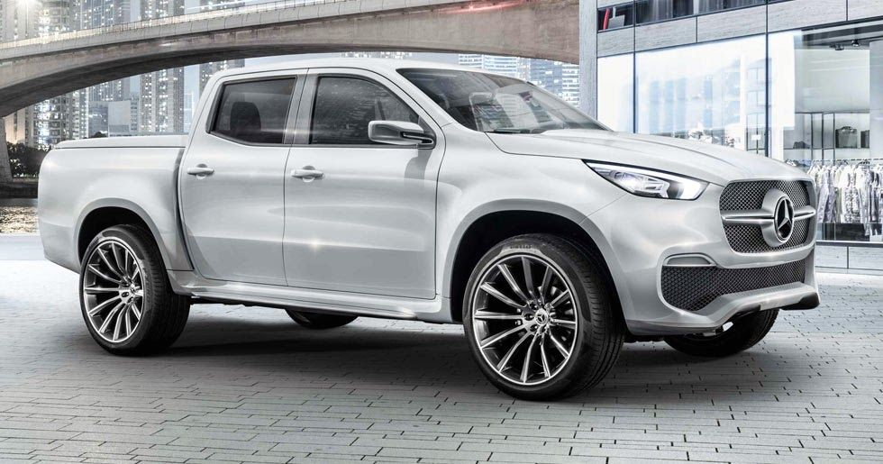 Mercedes Benz Boss Now Says X Class Pickup Could Come To The U S Carscoops Mercedes Truck Benz Mercedes Benz Trucks