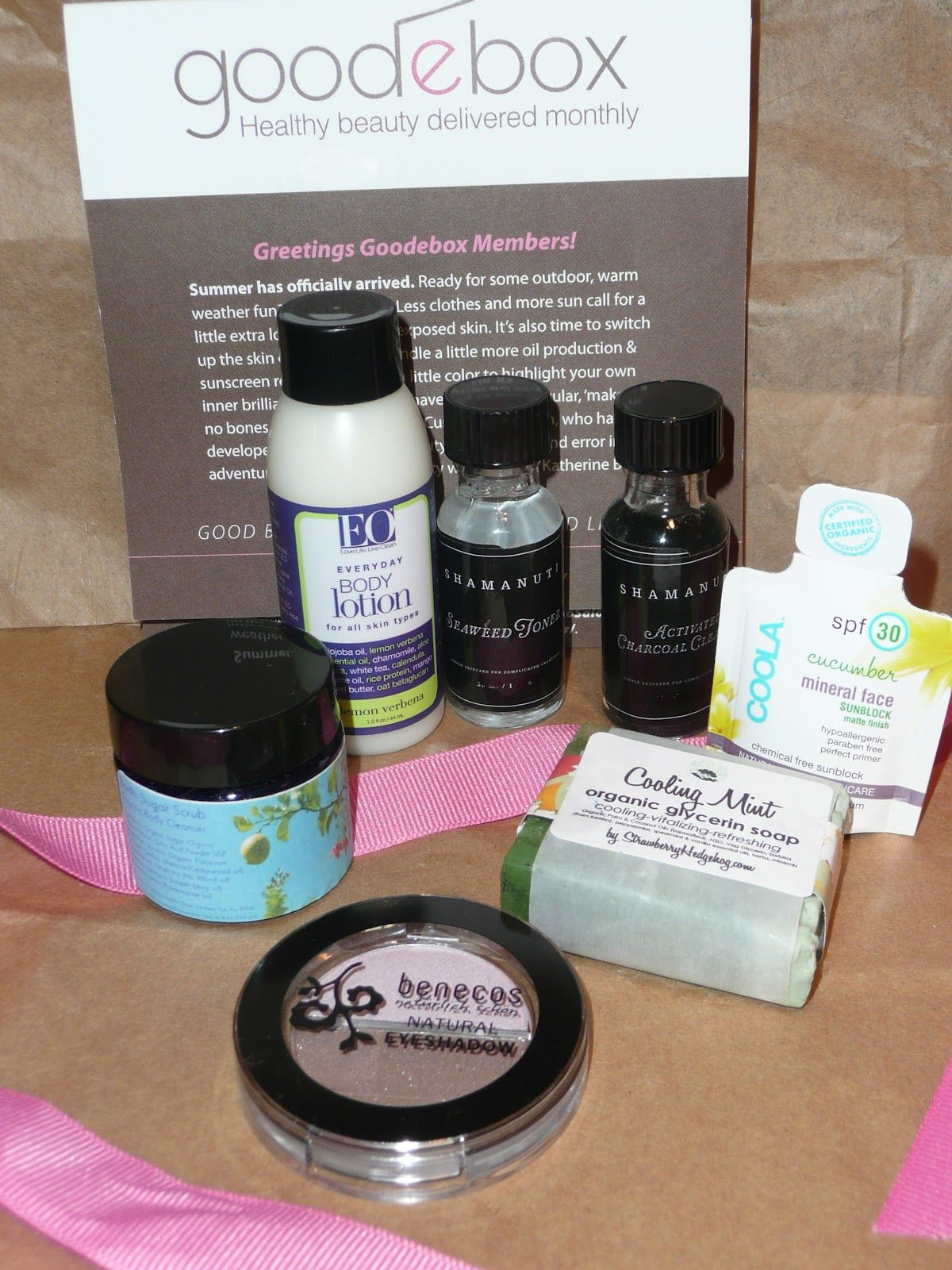 Indecision at Its BEST Healthy beauty, Sample box, Clean