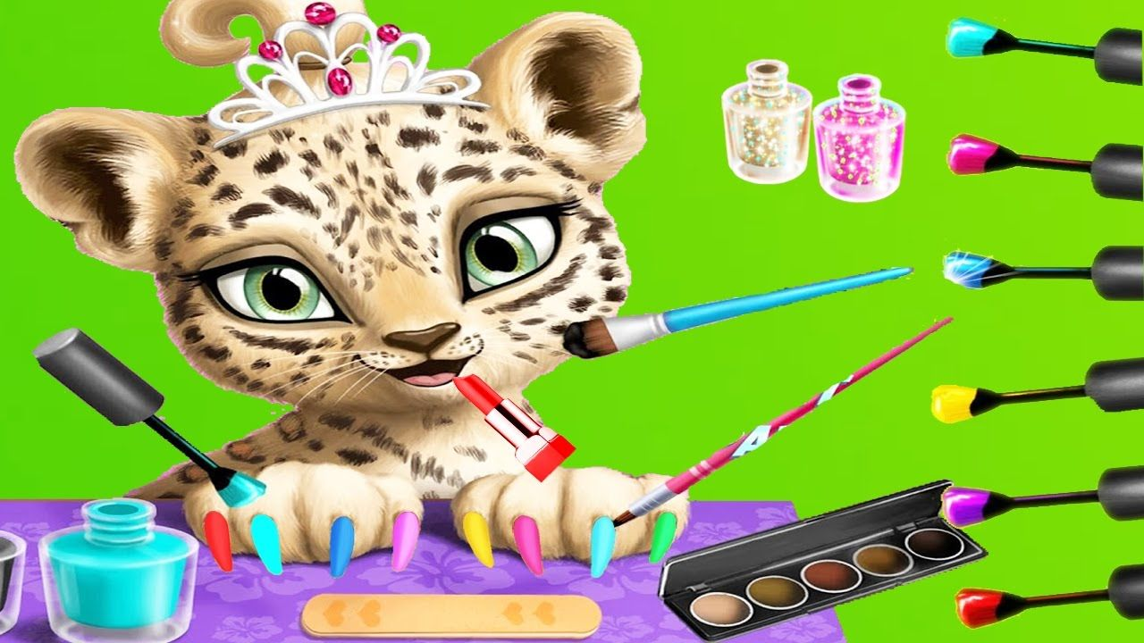 fun animals care makeover bath dress up kids games for girls