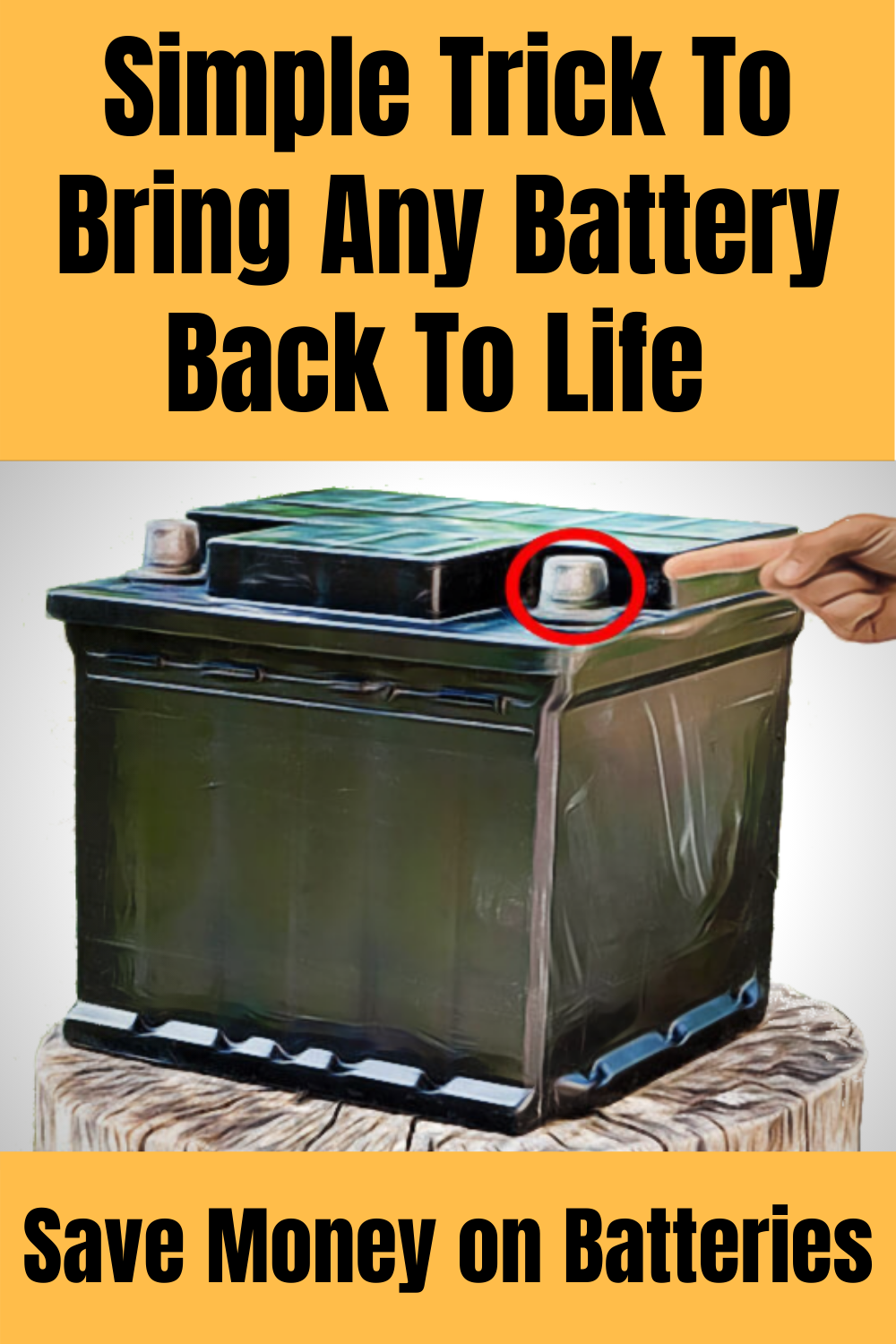 Simple Diy Battery Reconditioning In 2020 Easy Diy Selling Crafts Online Useful Life Hacks