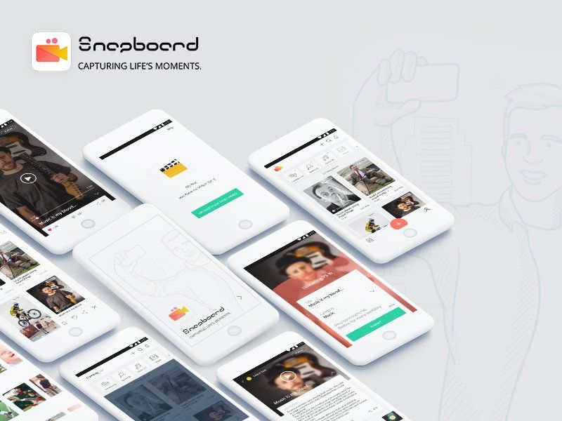 Snap Board (Video App)