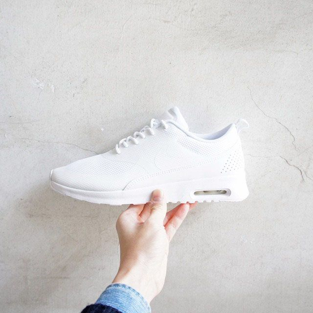 Icy White NIKE Air Max Thea. Instagram ShoesNike Free ShoesWomen ...