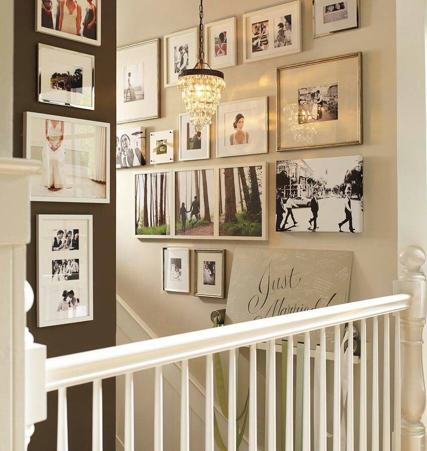 Pottery Barn gallery wall | Home, Home decor, Pottery barn chandelier