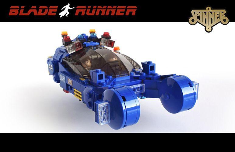 LEGO Bladerunner Spinner for Cuusoo   Legos