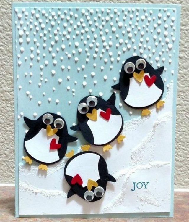 40 Modelos de Cartões de Natal Criativos para Copiar | Revista Artesanato 40 Modelos de Cartões d