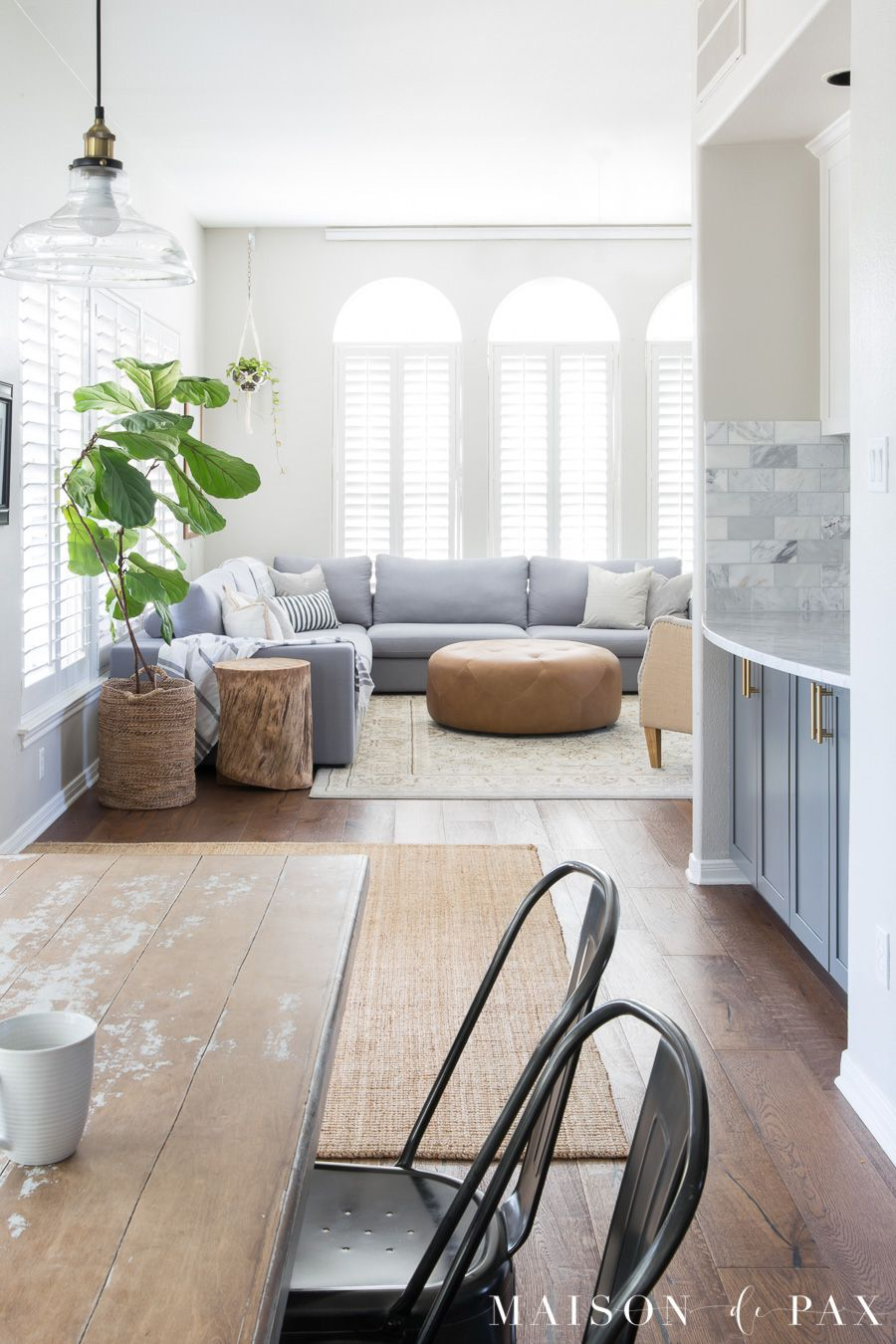 Designing a Small Living Room with a Large Sectional   Pinterest ...