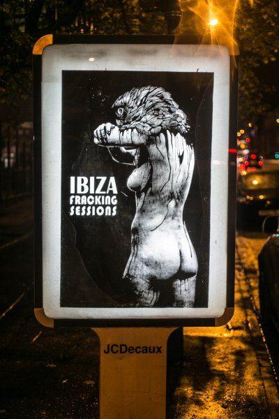 #brandalism | Manchester, artwork by Vinz Feel Free