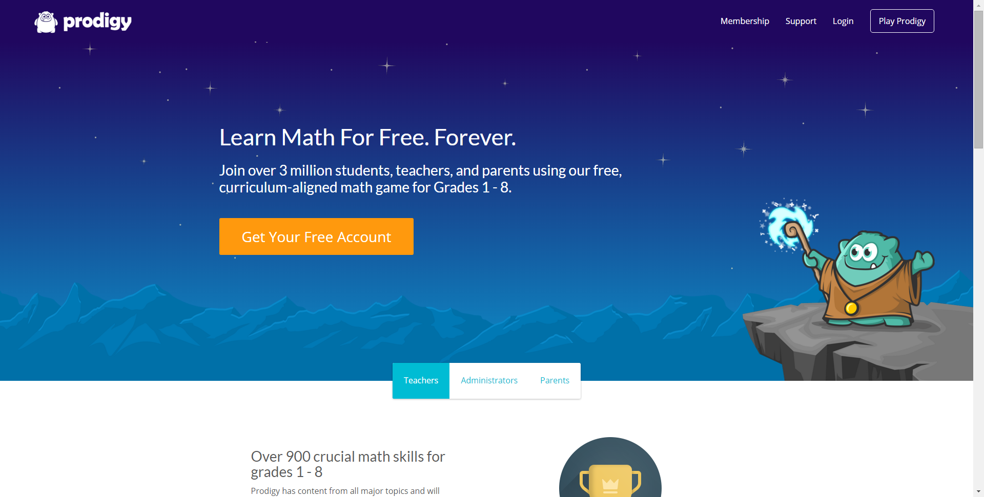 Prodigy Math Game - Learn Math for Free. Forever. | Education - Math ...