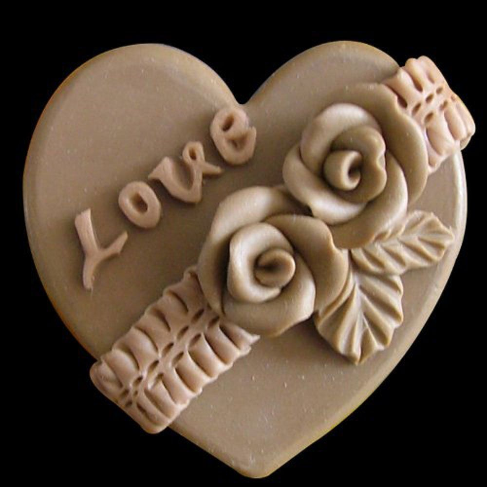 Sdong love s craft art silicone soap mold craft molds diy