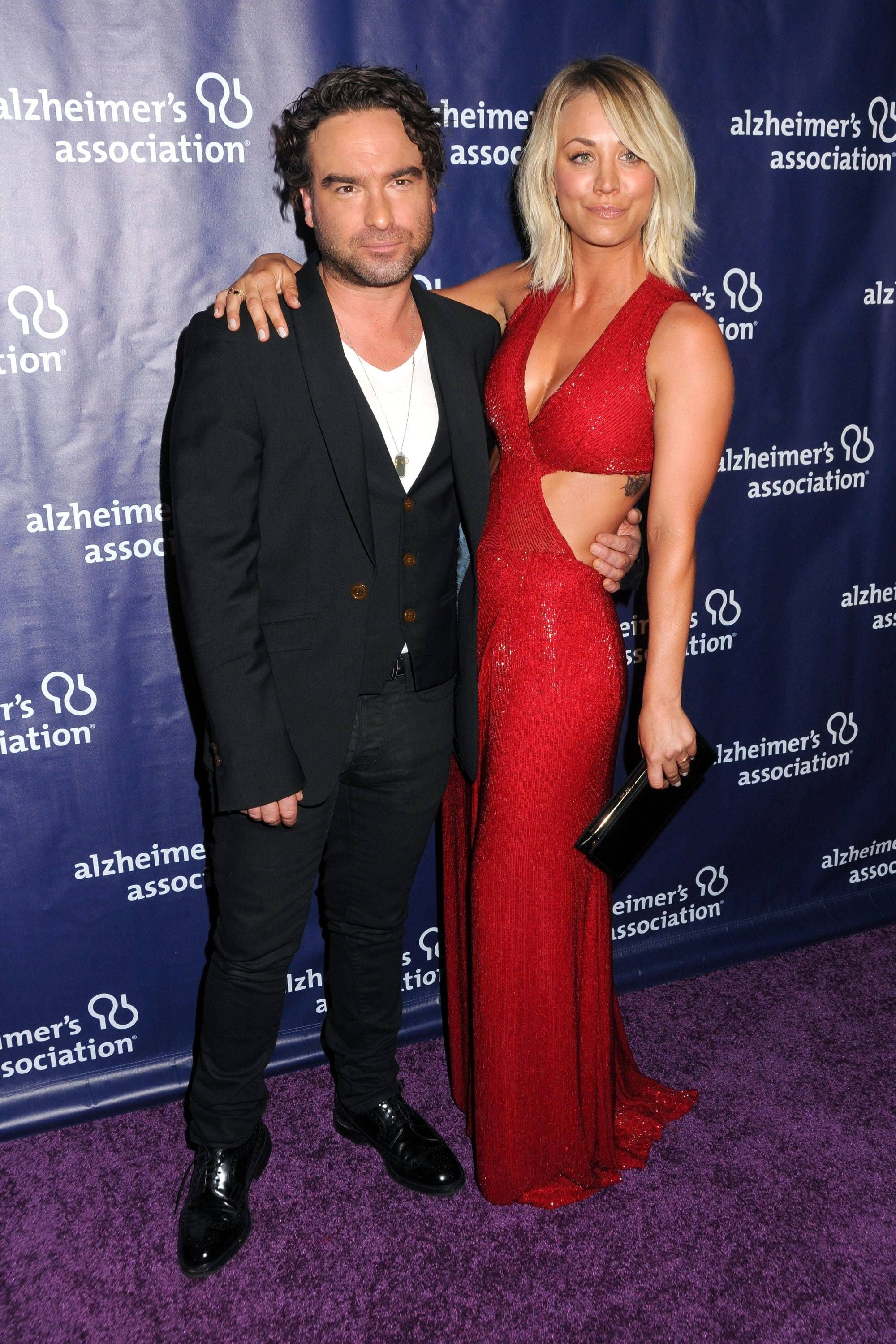 Leonard in is who life to married real Johnny Galecki