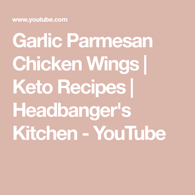 Photo of Garlic Parmesan Chicken Wings | Keto Recipes