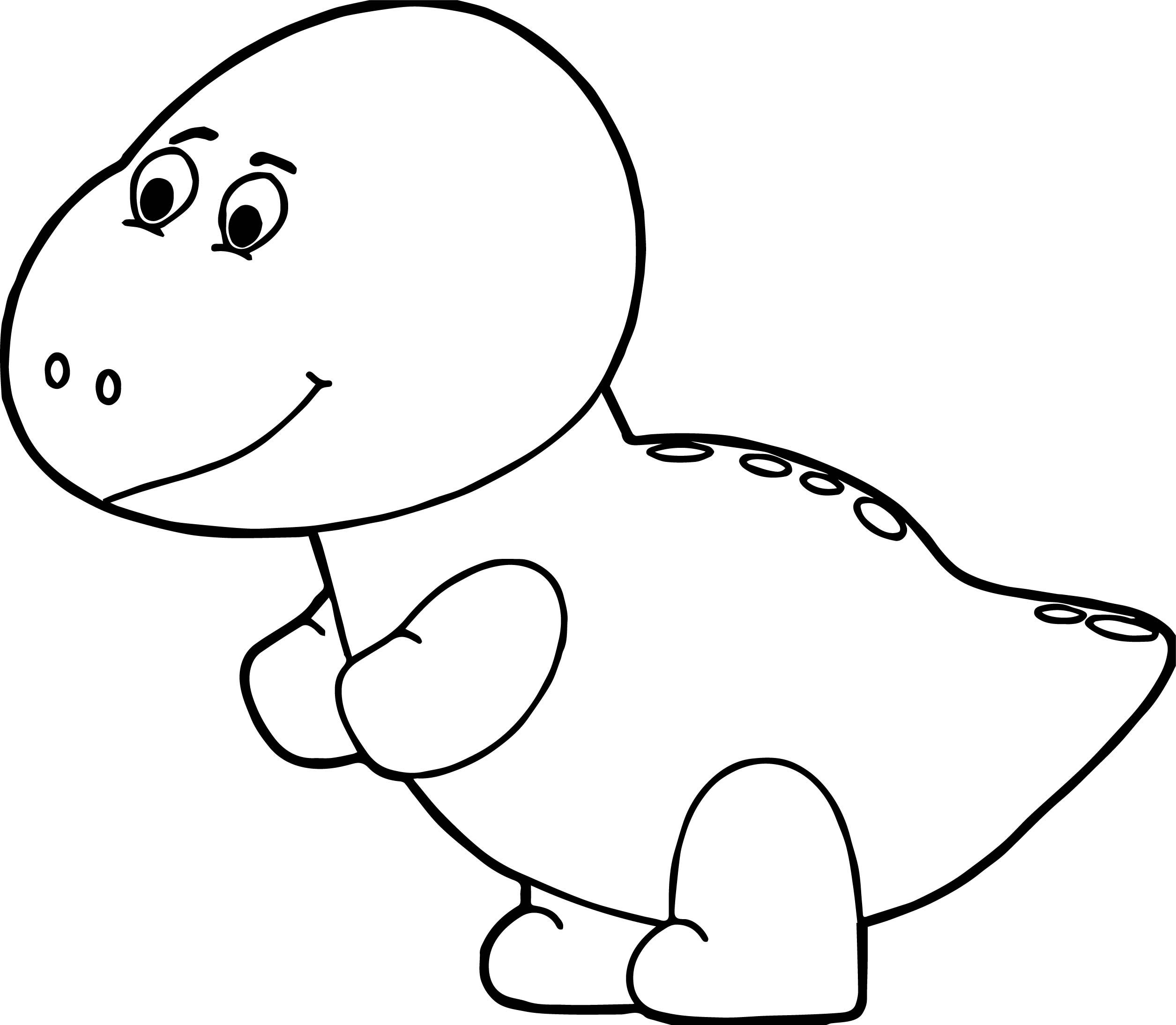 Awesome Baby Dinosaur Egg Head Coloring Page Dinosaur Coloring