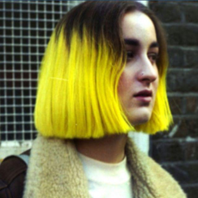 Miss my yellow hair