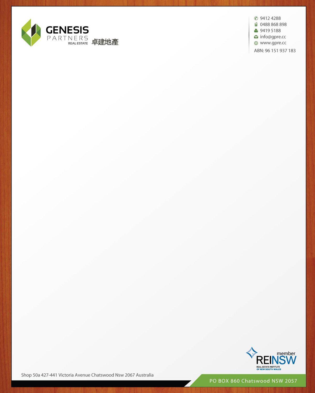 Best Company Letterhead Design Samples Hd Wallpaper  Free Small