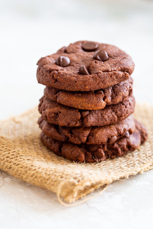 Chocolate Tahini Cookies Grainfree Oilfree Nutfree