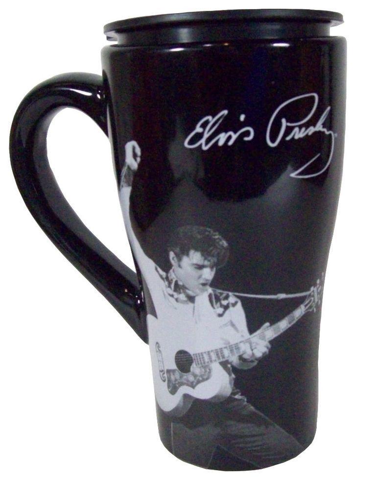 Free Oz About Elvis 16 Tumbler Details Coffee Presley Mug Travel TwuPZkiOX
