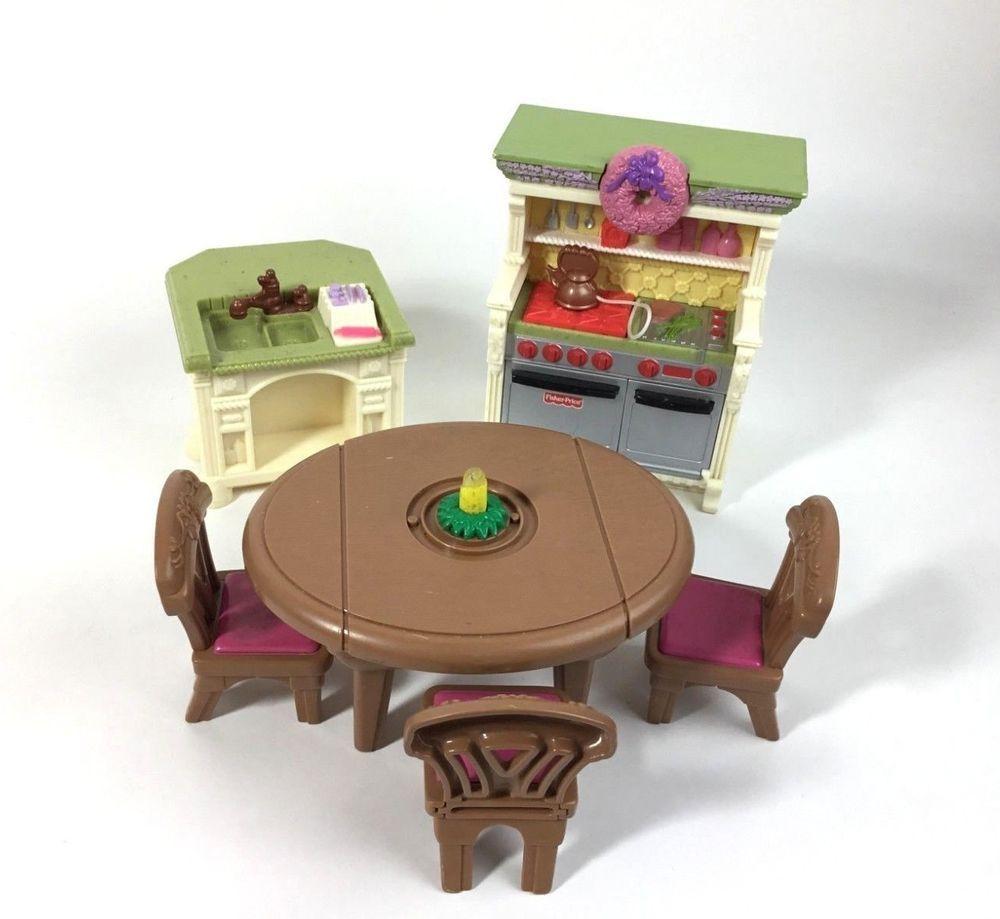 Kitchen Furniture Price: Loving Family Dollhouse Furniture Kitchen Dining Room
