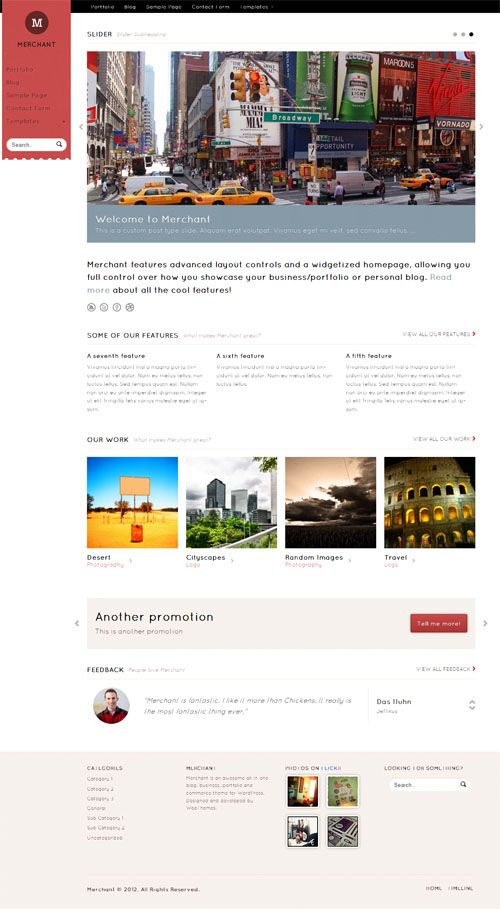 a flexible premium WordPress theme from WooThemes which could be ...