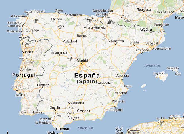 Mapa de Espaa Mapa de Carretera de Espaa  Summer Plans  Pinterest