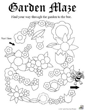 Garden Worksheets
